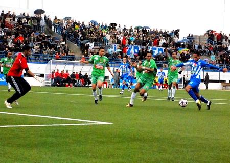 الدفاع الحسني الجديدي إلى المركز الثالث في الدوري المغربي