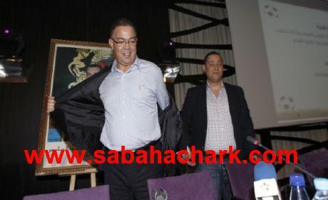 أطر رياضية مغربية ترحّب فوزي لقجع، رئيسا للجامعة الملكية المغربية لكرة القدم