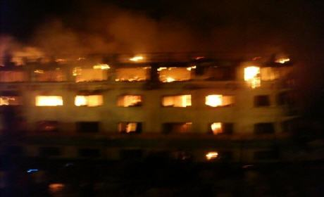 الدار البيضاء: حريق فندق الوزير مولاي عبد الحفيظ العلمي في البيضاء سببه انفجار آلة لقلي البطاطس