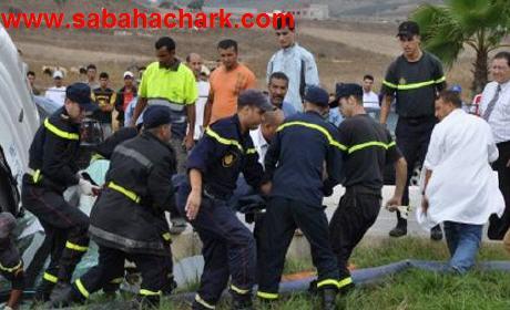 مقتل شخصين و جرح أخرين في حادثة سير خطيرة بالعيون