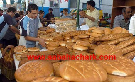 زيادات في الخبز  تتراوح بين 10 و30 سنتيما