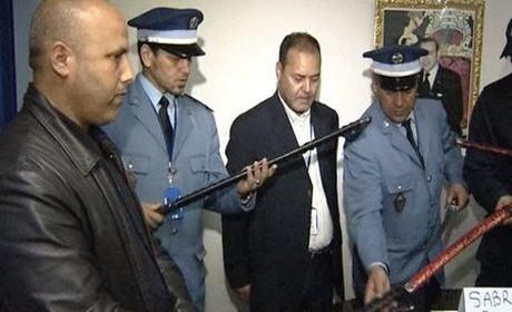 الناظور : حجز 60 سيفا كان على متن سيارة قادمة من فرنسا