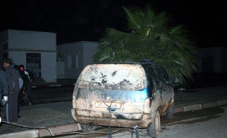 حجز سيارة مزورة و وقود مهرب من الجزائر في بركان