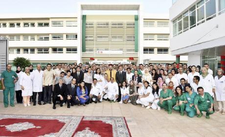 """المركز الاستشفائي الجامعي """"محمد السادس"""" بوجدة سيمكن من تعزيز الخدمات الصحية المقدمة لساكنة الجهة الشرقية للمملكة"""