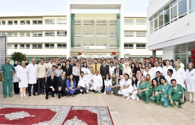 Oujda-SM-le-Roi-inaugure-le-Centre-hospitalier-universitaire-_G2-CHU- 629 OPujda-620x398