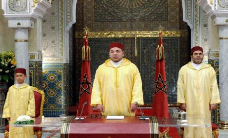 الملك يوجه خطاب العرش غدا الاربعاء ابتداء من الساعة الثانية بعد الزوال
