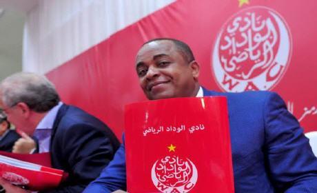 الناصيري رئيسا للوداد بالتزكية حتى 2018