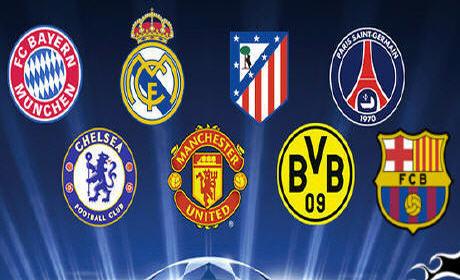 قرعة دوري أبطال أوروبا لهذا الموسم 2014