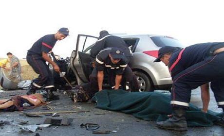 19 قتيلا و 1339 جريحا حصيلة حوادث سير وقعت داخل المدار الحضري بين 11 و 17 غشت الجاري