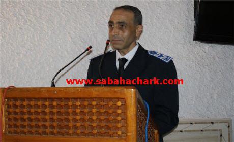 خلفا للعيد الجوهري … عبد الواحد حشلاف رئيسا لمصلحة الاستعلامات بالمنطقة الأمنية الاقليمية لبركان
