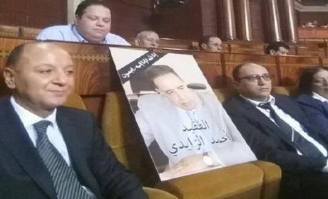 أحمد الزايدي حاضر إلى جانب الإتحاديين في جلسة مُسائلة رئيس الحكومة (صور)