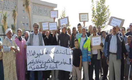 سكان وجدة يخرجون غدا الجمعة للاحتجاج ضد فواتير الماء والكهرباء