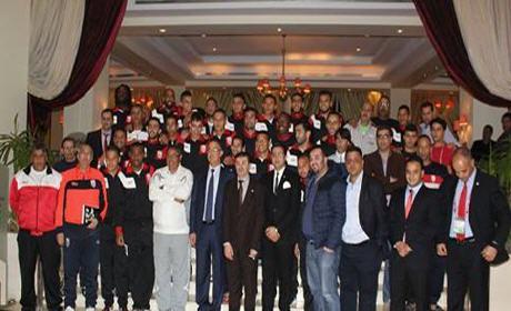 فوزي لقجع… يدعو لاعبي المغرب التطواني لتكرار إنجاز الرجاء البيضاوي