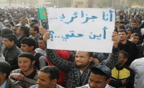 الجزائر على صفيح ساخن .. تجميد للتوظيف وزيادة الأجور وتوقيف انجاز المشاريع الكبرى بعد تراجع حاد لأسعار النفط