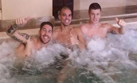لاعبو الريال مدريد مرتاحون بمراكش