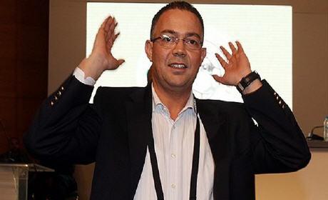 فوزي لقجع رئيس الجامعة الملكية المغربية لكرة القدم … الكاف لا يمكنه ان يستغني عن المغرب