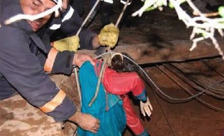مقتل ثلاث طفلات شقيقات بعد سقوطهن في بئر بأيت ملول
