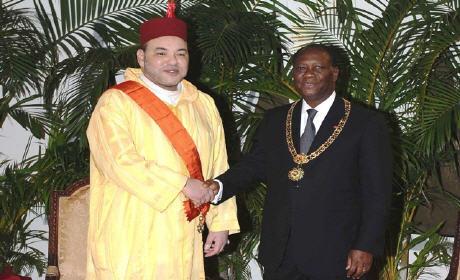 """""""بلاغ"""" الحسن وتارا رئيس جمهورية كوت ديفوار يقوم بزيارة رسمية للمغرب بدعوة من الملك محمد السادس"""