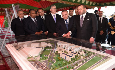الملك محمد السادس يعطي إنطلاقة مشروعين عمرانيين لفائدة 2274 أسرة بالمحمدية