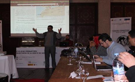 دورة تكوينية بطنجة حول رصد انتهاكات حريات الإعلام بالمغرب