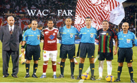 الحكام الذين سيديرون الدورة 22 للبطولة الإحترافية المغربية لكرة القدم