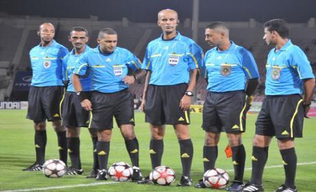 """ثلاثة حكام بارزين غابوا عن """" الدورة 22″ من البطولة الوطنية المغربية الاحترافية لكرة القدم"""