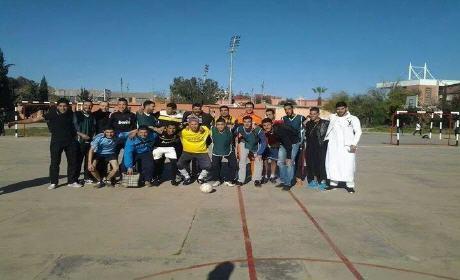 اختتام دوري ثانوية أبي الخير التأهيلية لكرة القدم بركان