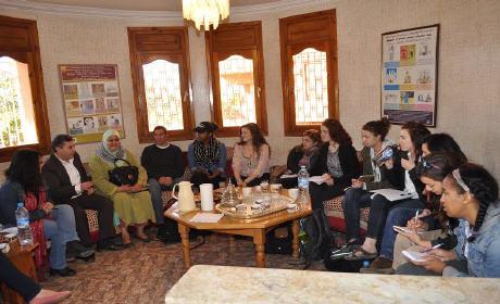 الهجرة والمرأة في عمق أنشطة مؤسسة هولندا لمساعدة العائدين ببركان