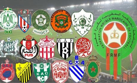 """نتائج """" الدورة 22″ من البطولة الوطنية المغربية الاحترافية لكرة القدم"""