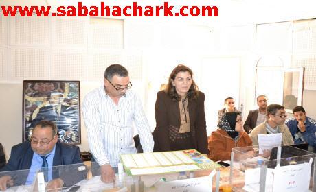 صباح الشرق تحضر قرعة سوق مبروك بقاعة بلدية  بركان