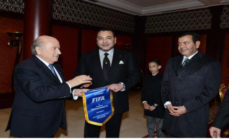 جوزيف بلاتر رئيس الاتحاد الدولي لكرة القدم.. المغرب أصبح مؤهل لتنظيم كأس العالم
