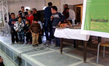 نظمت جمعية مواكبة الأشخاص ذوي التثلث الصبغي 21 ببركان أمسية تربوية لفائدة الأطفال و أسر الأشخاص ذوي التثلث الصبغي 21