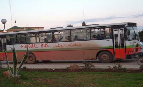 الأعطاب المتكررة لحافلات مهترئة تابعة لشركة فوغال تثير استياء المواطنين ببركان