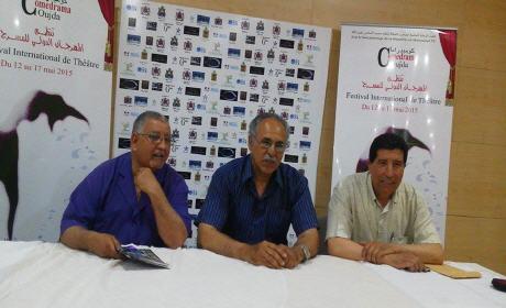 المهرجان الدولي للمسرح بوجدة يصل يومه الثالث