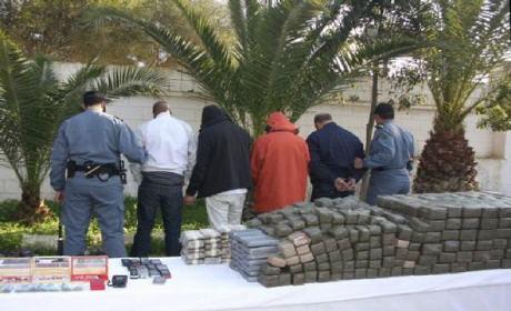 تفكيك شبكة إجرامية متخصصة في الاتجار في المخدرات بين مدينتي الناظور وبني ملال