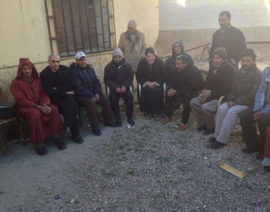 """عمال مناجم جرادة يحتجون بسبب المعاناة اليومية مع """"السليكوز"""""""