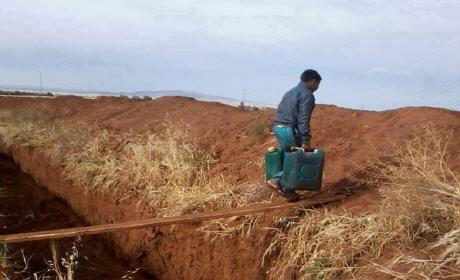 الجزائر تشرع في ردم خنادق شيدتها على الحدود مع المغرب