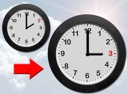 """""""بلاغ"""" العودة الى الساعة القانونية يوم الأحد 14 يونيو 2015"""