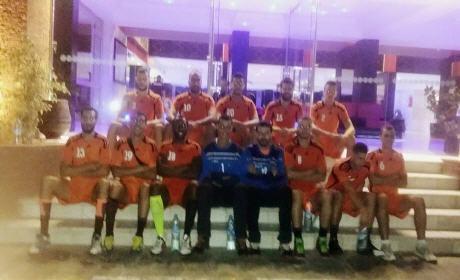 نهضة بركان لكرة اليد  يعود بانتصار خارج الدار أمام رجاء أكادير ويحجز مكانا في نصف النهائي