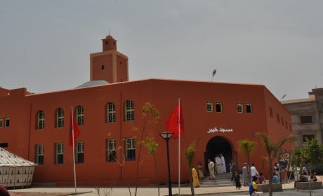 تدشين مسجد خيبر بحي ورطاس بمدينة بركان