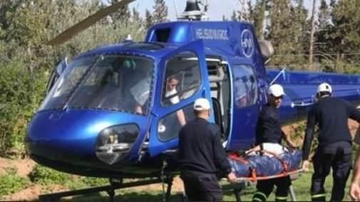 إنقاذ سيدة نُقلت بواسطة مروحية طبية من ميسور الى وجدة