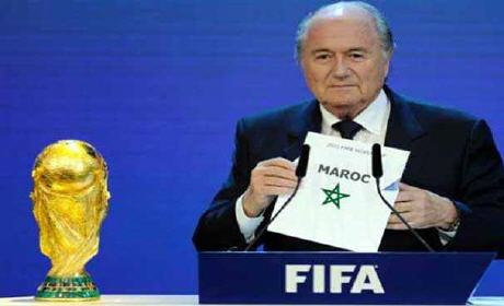 المغرب ينفي رسمياً محاولته ارشاء أعضاء من الفيفا لتنظيم كأس العالم 1998