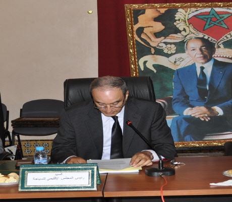 تجديد التقة في يوسف الزاكي رئيسا للمجلس الإقليمي  للسياحة ببركان