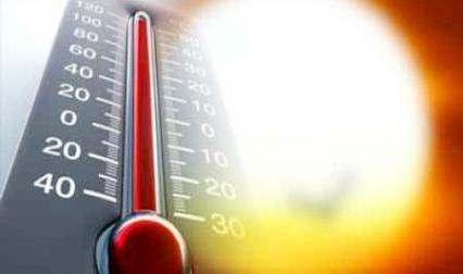 """ارتفاع في درجات الحرارة بين"""" 40 و43 """""""