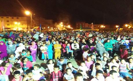 اليوم الثالث من مهرجان ليالي رمضان المنظم من طرف جمعية الشعلة فرع سيدي سليمان شراعة بركان