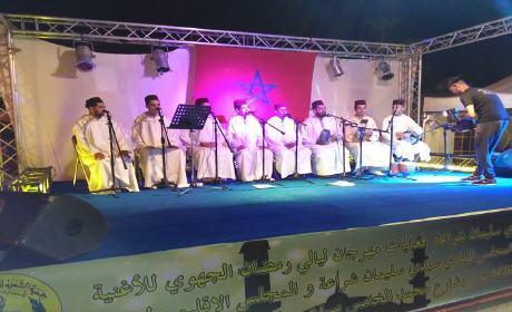 انطلاق مهرجان ليالي رمضان المنظم من طرف جمعية الشعلة للتربية والثقافة فرع سيدي سليمان شراعة بركان وسط حضور غفير