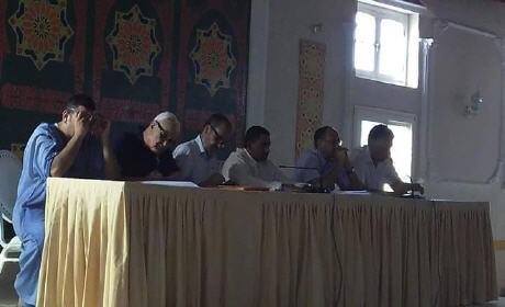 المجلس الإقليمي لحزب الميزان في دورة تكوينية من تأطير الدكتور أحمد لكيحل ببركان