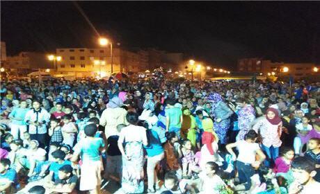 اليوم الثاني من مهرجان ليالي رمضان لجمعية الشعلة للتربية والثقافة فرع سيدي سليمان شراعة بركان