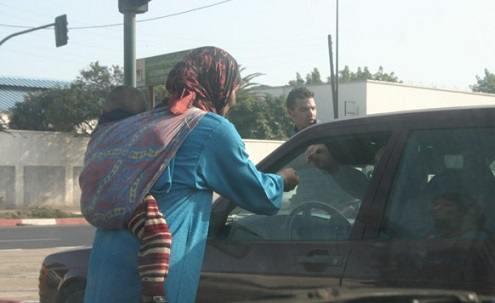 هروب جماعي للمتسولين للسعيدية بعد قرار محاربة الفوضى والتسول بوجدة