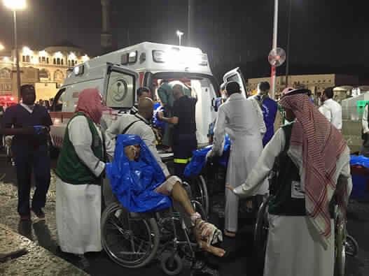 بلاغ: سفارة المغرب في السعودية: مغربي بين ضحايا سقوط رافعة في الحرم المكي